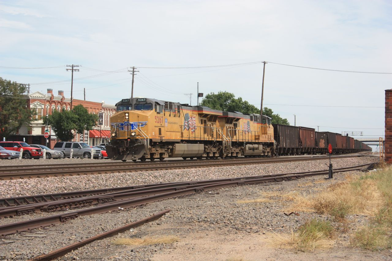 Westbound Misc coal hoppers