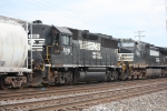 GP50 on a freight, and it still has CNOTP subletters