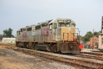 KCS power parked in the yard