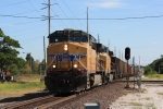 Southbound UP coal crossing the ex-Frisco line