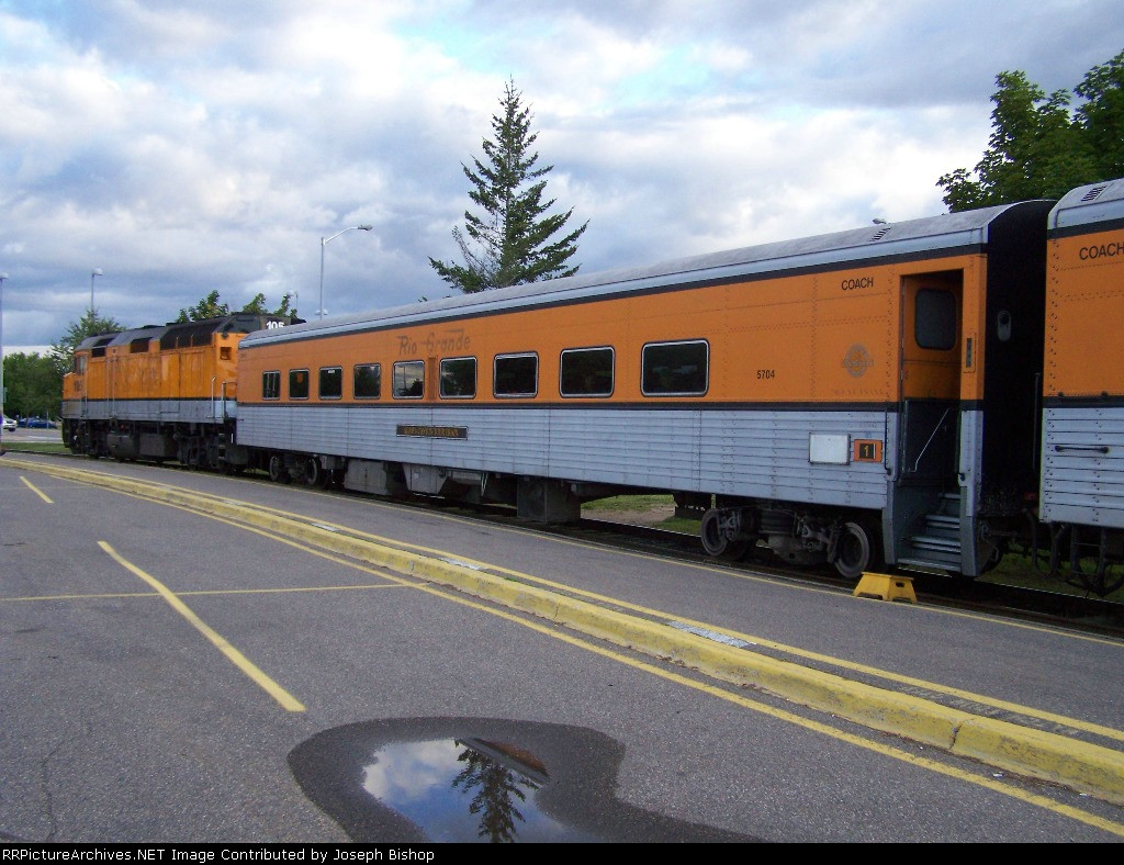 Algoma Central Passenger Car EX D&RGW