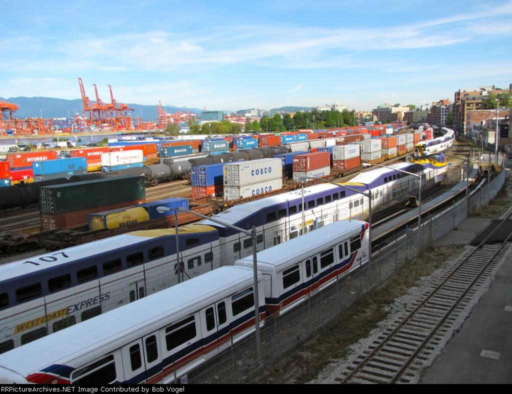 CP intermodal yard