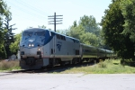 Amtrak #69 rolls into Fort Edward, NY