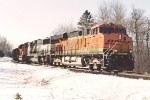 Westbound all-rail ore empty