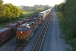BNSF 7496 East