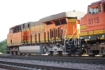 BNSF 7904 pushes her eastbound Z as the rear most DPU unit.