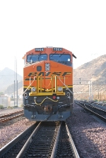 BNSF 7904 up close as she ascends Main # 1 as a rear DPU unit on a eastbound Z entering Sullivan's Curve.