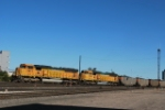 BNSF 9913 Is Point On A South Bound Coal Train