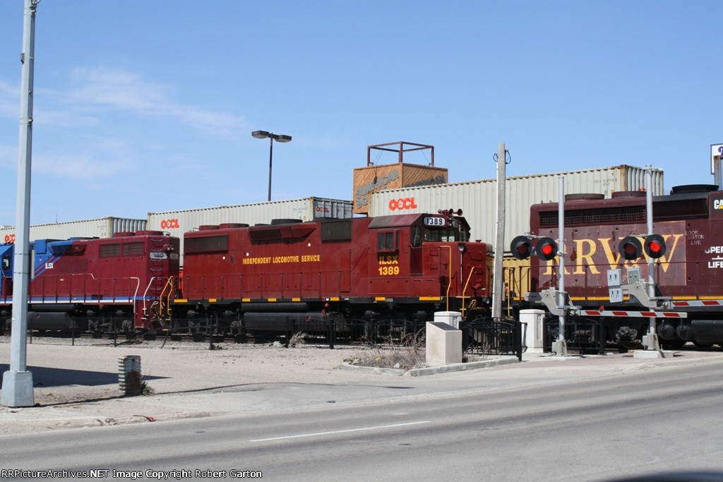 Leased Unit #2 on a RRVW Reroute Train