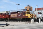 RRVW 2005 Passes Through Downtown Helping on a RRVW Reroute into North Dakota