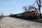 BNSF 6330 Leads a Westbound Grain Train