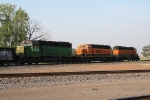 SD40-2 Trio on a Transfer