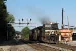 NS 8893 heading light to Inman