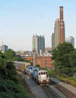 NS P11 with the Atlanta waterworks in the background