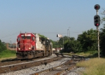 CEFX 6016 leads train 119 at CP Wells