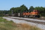 BNSF 5902 leads a loaded Scherer train