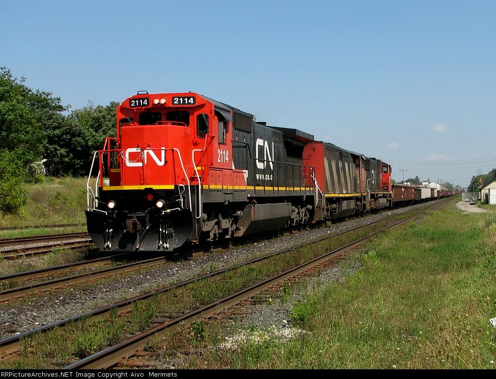 CN 331 at Woodstock