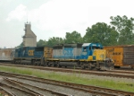 CSX 8207 rolls through Sandy Hook yard