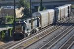 CSX 8603 leads train Q235 south