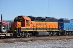 BNSF 2776 on BNSF to NS transfer