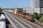 BNSF 5173 leads Q184 north