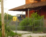 Peek from behind the Potter Street Depot.