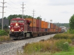 CP 8831, with 19 double stack wells behind it, leads X500-13
