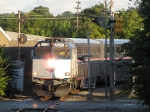 90221 is on the point as P371-16 pulls up the Market St