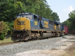 About to hit Seymour, CSX 4575 & 5354 lead Q327-29 west