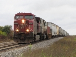 CP 9545 & SOO 6038 roll over the hill with X500-01