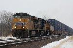 UP 5306, southbound UP train ZYCMX