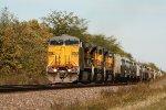 UP 6573, southbound UP grain train GSHDNA