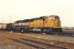 Empty coal train prepares to roll unto Willmar Line