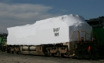 Shrink-wrapped BNSF #889