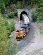 BNSF 4161 at Tunnel 3.8