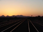Dusk at the Port of Tucson