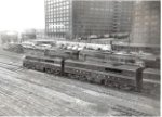 PRR EMD, Alco GE, and Baldwin power at the TRRA 14th St servicing tracks
