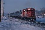 Eastbound unit Glycol train