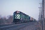 Westbound BN freight