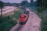 Soo transfer on ex Milwaukee Road
