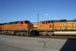BNSF 4688 and 5214 Meet