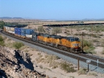 UP Stack Train west of Yuma