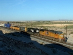 UP Intermodal West of Yuma