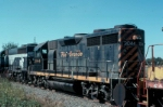 Former DRGW GP35 was one of the early Hartwell Railroad locomotives