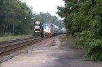 Amtrak Pennsylvanian 42 O4T and NS 20G Meet
