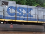 Blue CSX Logos like his are becoming rarer and rarer