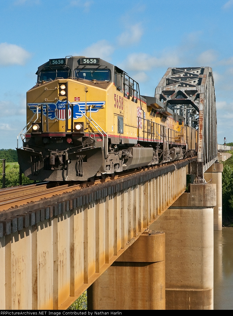 Union Pacific over the Verdigris