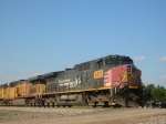 Southern Pacific pulling intermodal