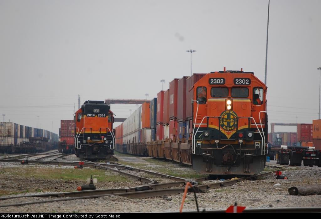BNSF 2014 & 2302