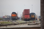 BNSF 2014 & CSX 8707